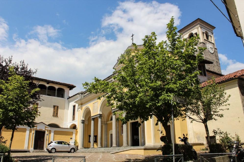 La chiesa parrocchiale dei SS. Giacomo e Stefano