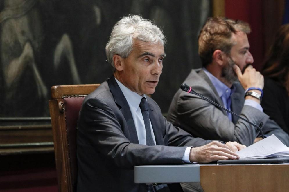 Il presidente dell'Inps, Tito Boeri, in audizione davanti alle commissioni Finanze e Lavoro della Camera