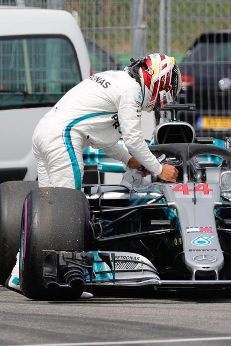 Problemi per Hamilton nelle qualifiche del GP di Germania