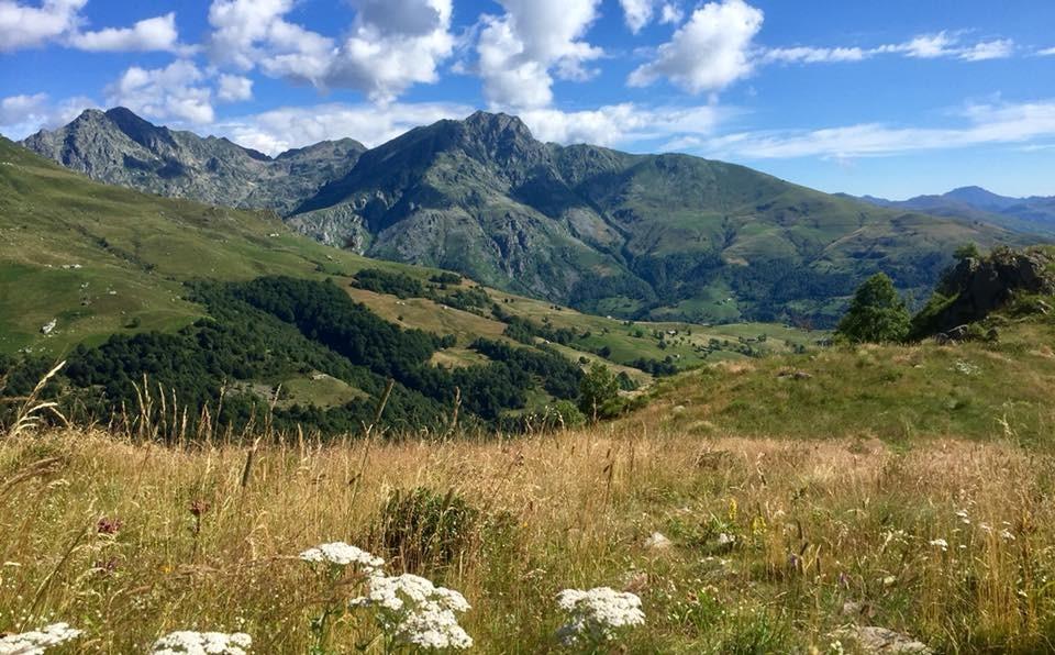 Panoramica delle nostre montagne da Graglia
