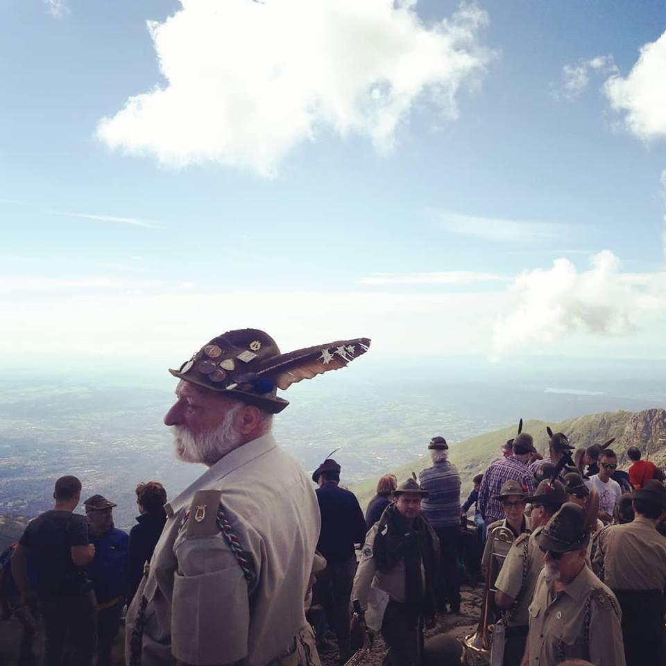 Raduno annuale della Sezione Alpini di Biella al Monte Camino