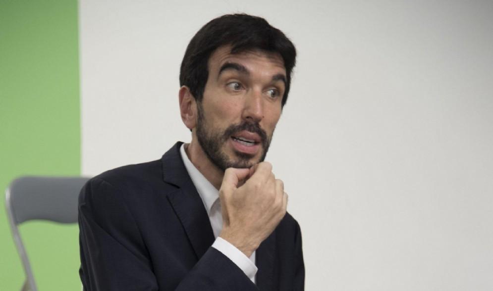L'intervento del segretario del Pd, Maurizio Martina