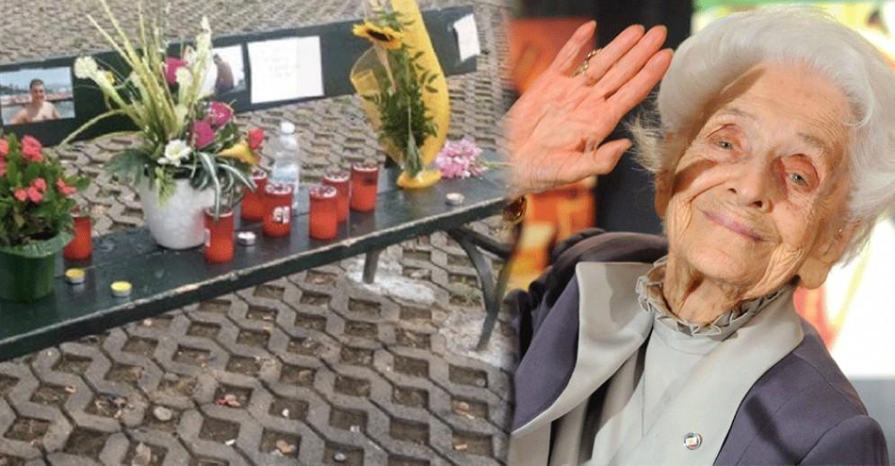 Torino dedica una piazza a Rita Levi Montalcini: la panchina di piazza Umbria intitolata ad Andrea Soldi