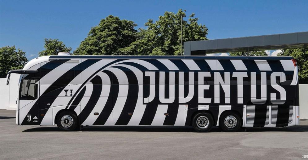 Il nuovo pullman della Juventus