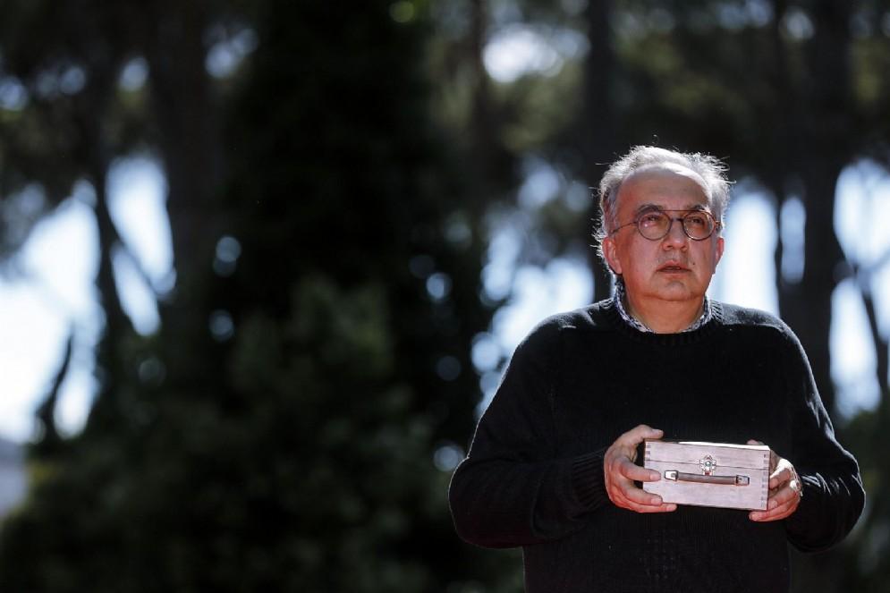 Sergio Marchionne. Roma, 26 giugno 2018