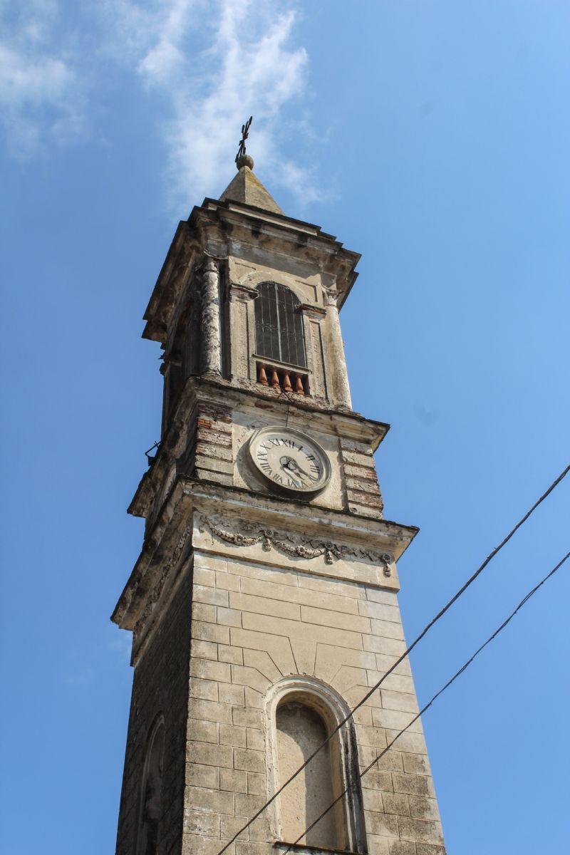 Piazza del Municipio, campanile del XIX secolo