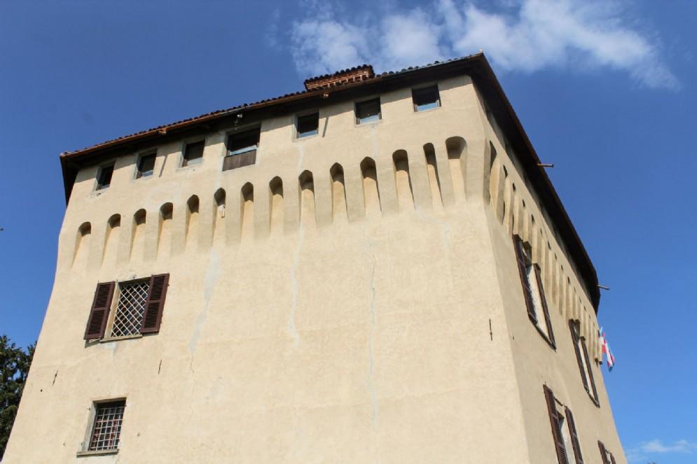 Scorcio sul castello