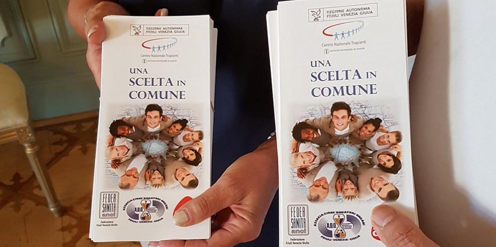 A Gorizia è possibile donare gli organi presentando la carta di identità