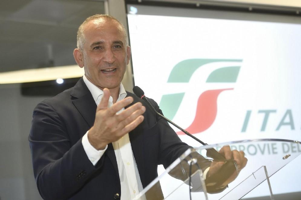 L'ex amministratore delegato di Ferrovie dello Stato Renato Mazzoncini