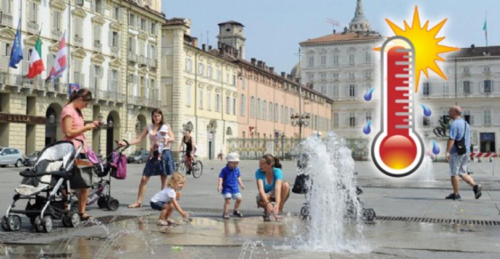 Meteo a Torino, in arrivo il caldo torrido: saranno giorni di fuoco in città