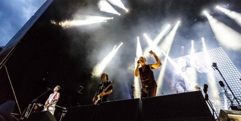 L'esibizione dei Depeche Mode al Collisioni Festival 2018