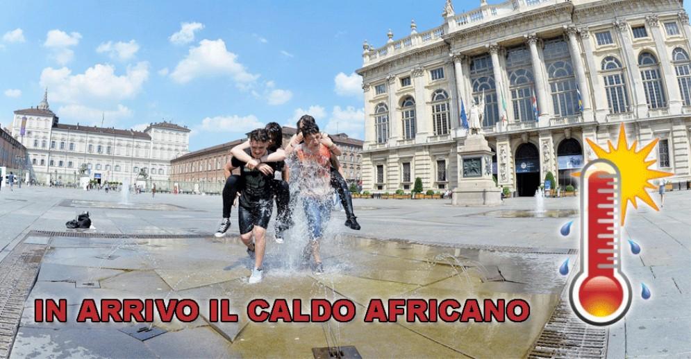 Meteo a Torino, è allarme caldo: l'anticiclone africano spinge i termometri alle stelle
