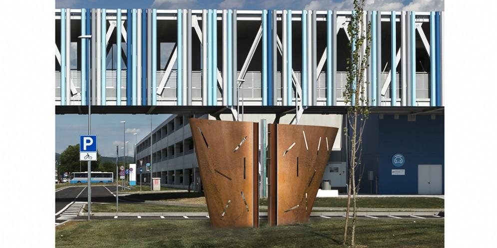 Trieste Airport: il polo intermodale sarà valorizzato dall'arte di Massimo Poldelmengo