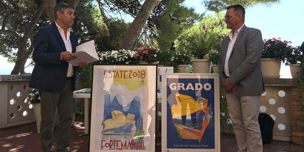 """Grado e Forte dei Marmi: """"Sarà l'inizio di una collaborazione turistica"""""""