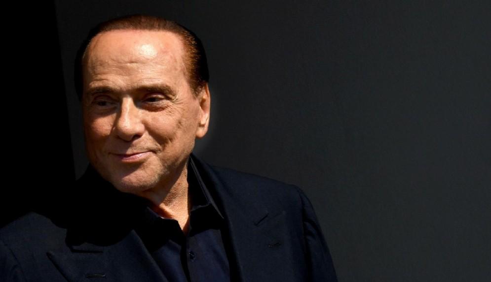 Silvio Berlusconi, all'uscita dall'ospedale San Raffaele, Milano, 30 luglio 2018