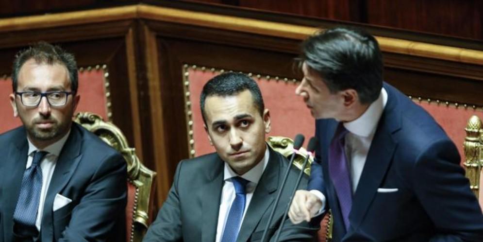 Il Premier Conte con Luigi Di Maio