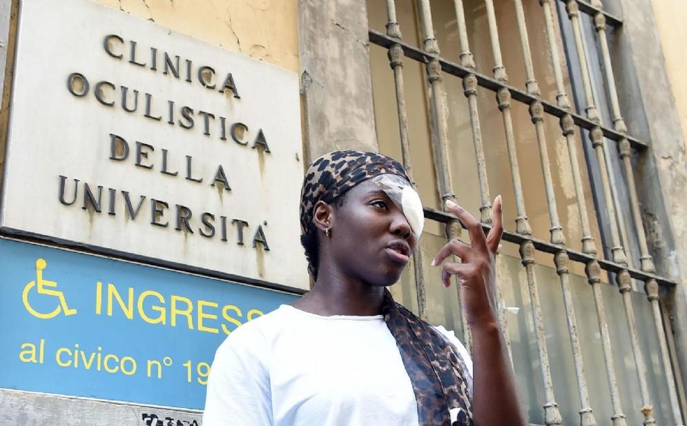 La lanciatrice del disco italiana Daisy Osakue, aggredita a Moncalieri