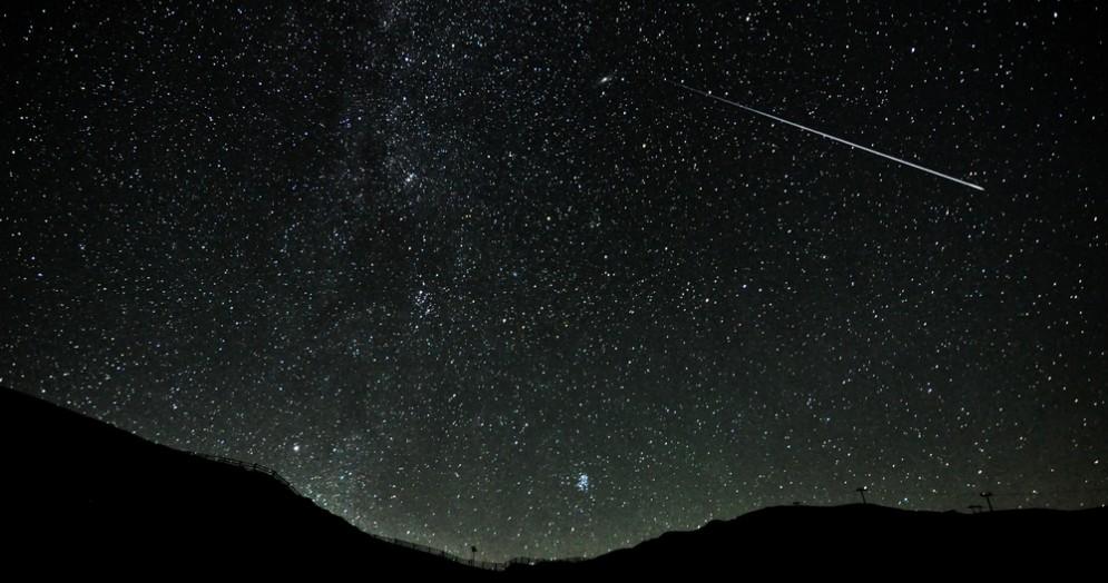 Cielo stellato nella notte di San Lorenzo