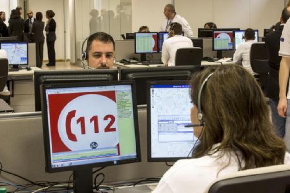 La centrale operativa del 112