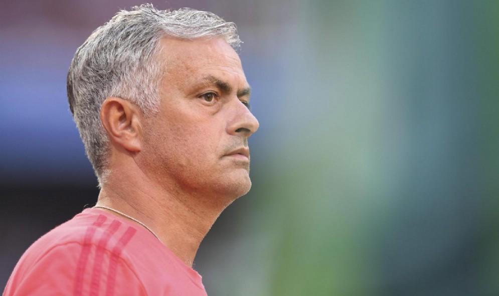 Il tecnico dei Red Devils Josè Mourinho