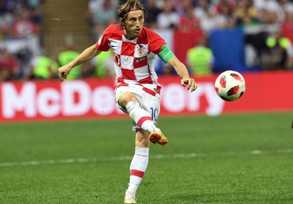 Il capitano della Croazia Luka Modric