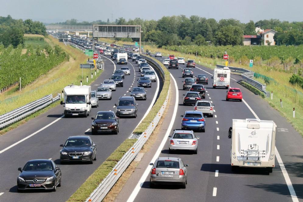 Situazione già critica in A23 e A4: code e rallentamenti sulle autostrade del Fvg