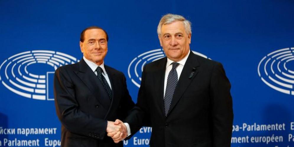 Silvio Berlusconi e Antonio Tajani