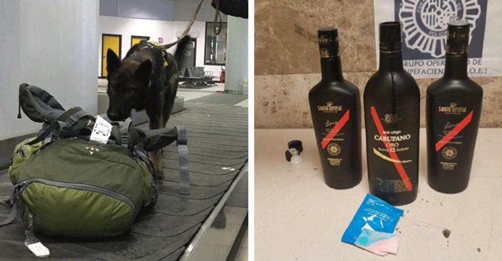 Da Torino a Madrid con la cocaina nascosta nelle bottiglie di rum: presi i narcos torinesi