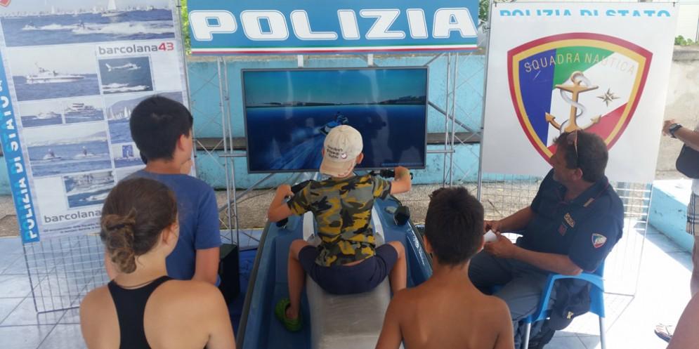 Squadra nautica della polizia: esibizione per tutti