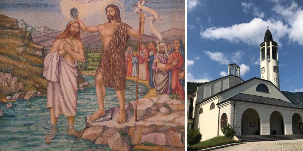 Visita guidata ai mosaici della chiesa di Oseacco