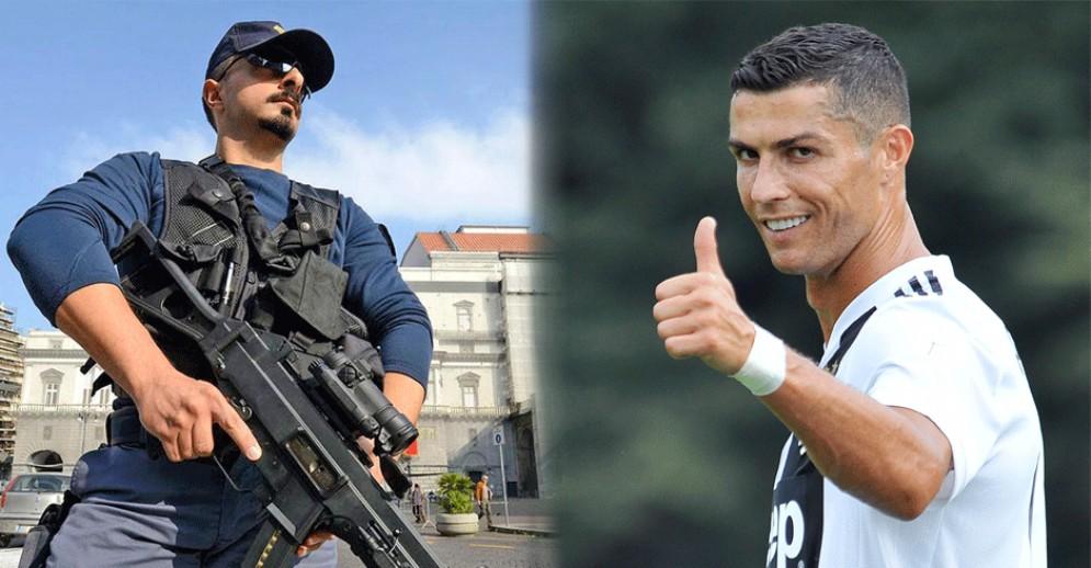 Cristiano Ronaldo debutta contro il Chievo: a Verona impiegate unità antiterrorismo