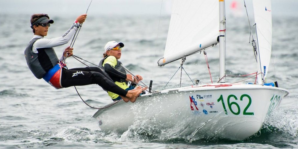PouchèeCoslovich terzi ai Campionati Mondiali 420 a Newport