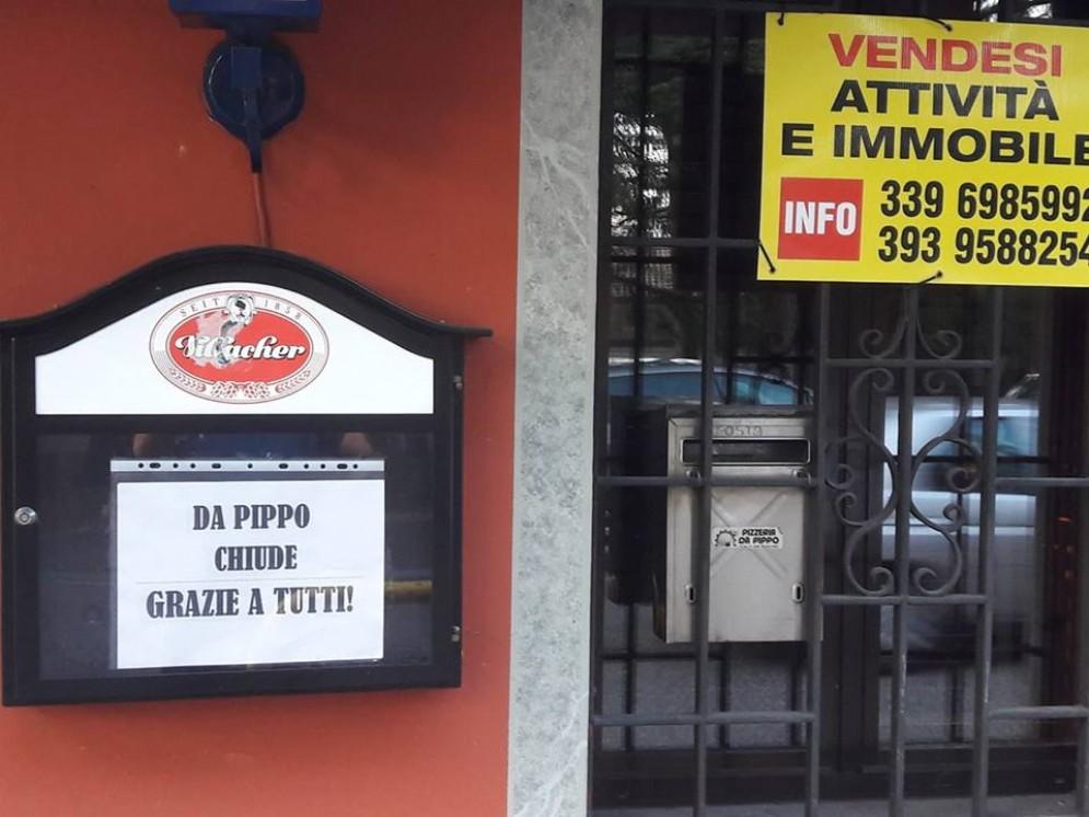 Udine, chiude la pizzeria 'Da Pippo'