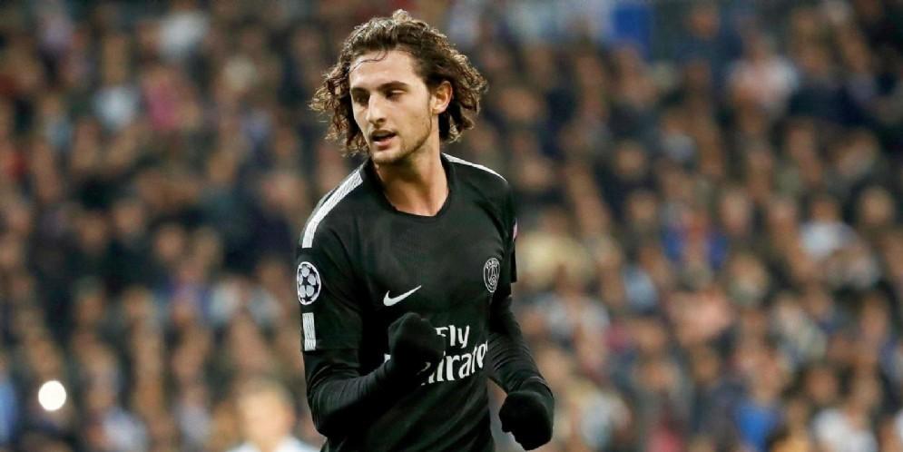 Il centrocampista francese Rabiot