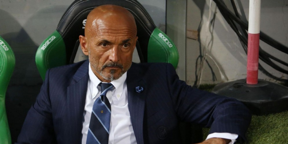 Il tecnico dell'Inter Luciano Spalletti