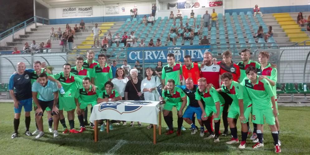 Foto squadra Pro Gorizia al Memorial Brienza