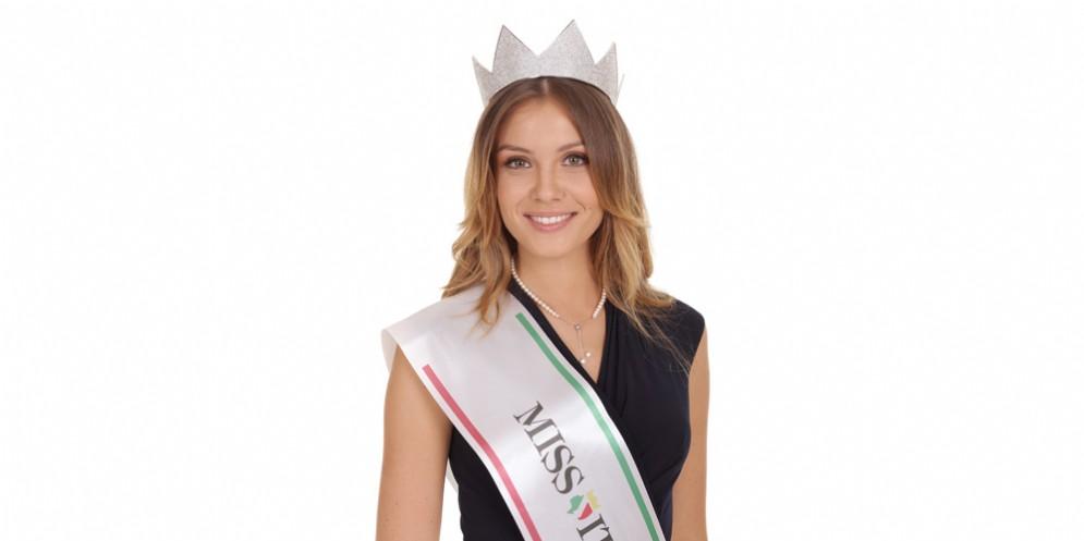 A Lignano, per la finale di Miss Fvg, ospite Alice Rachele Arlanch