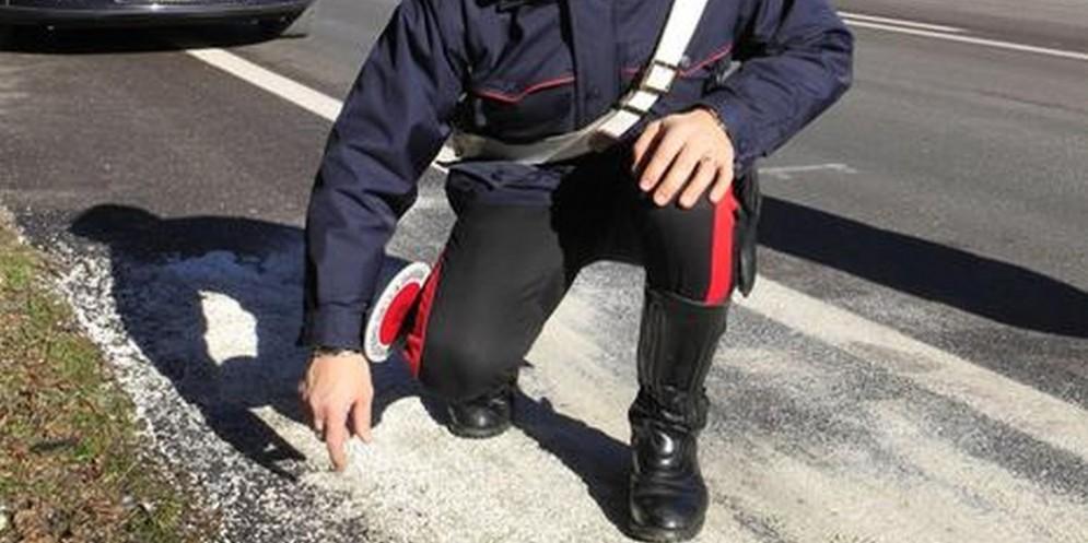 Romano Canavese: auto centra una moto, centauro morto sul colpo