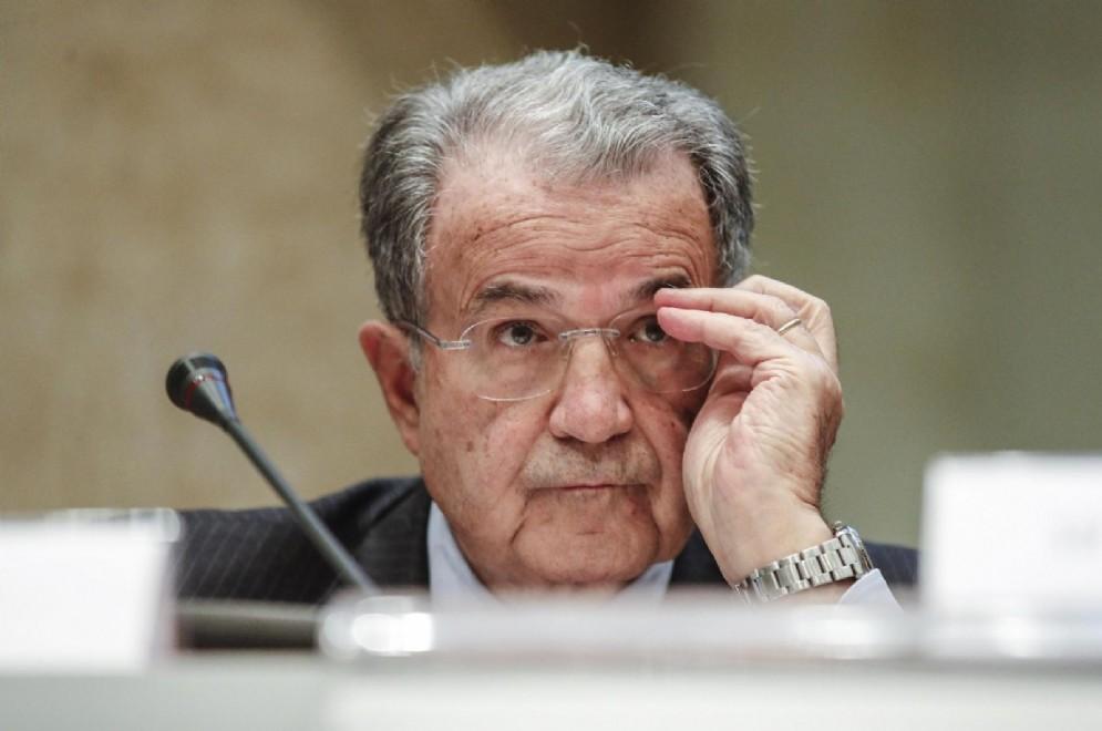 L'ex presidente del Consiglio Romano Prodi
