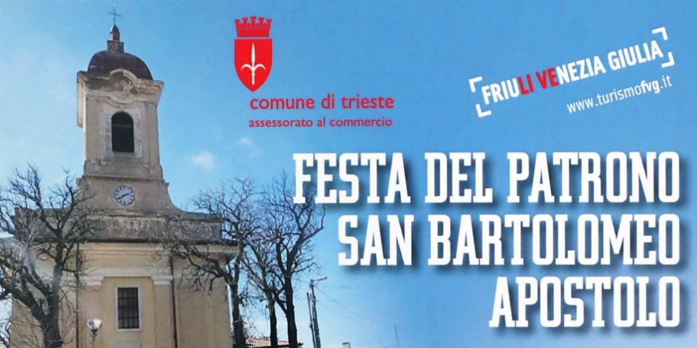 A Opicina torna la festa del patrono San Bartolomeo Apostolo