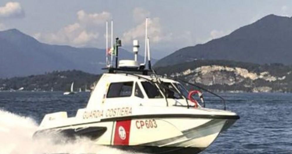 Imbarcazione della Guardia Costiera