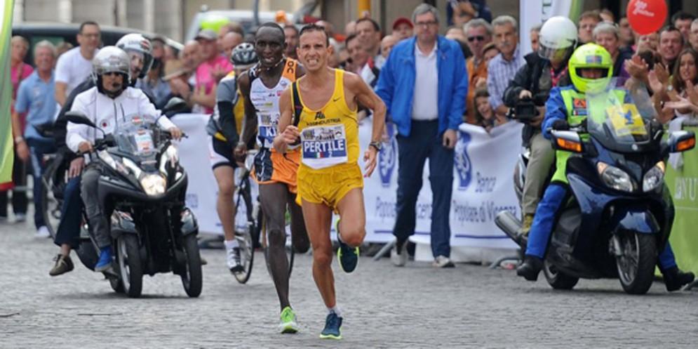 Ruggero Pertile testimonial della maratonina internazionale città di Udine 2018