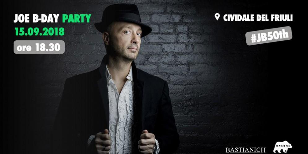 Joe 50th B-Day party: Bastianich festeggia gli 'anta' a Cividale