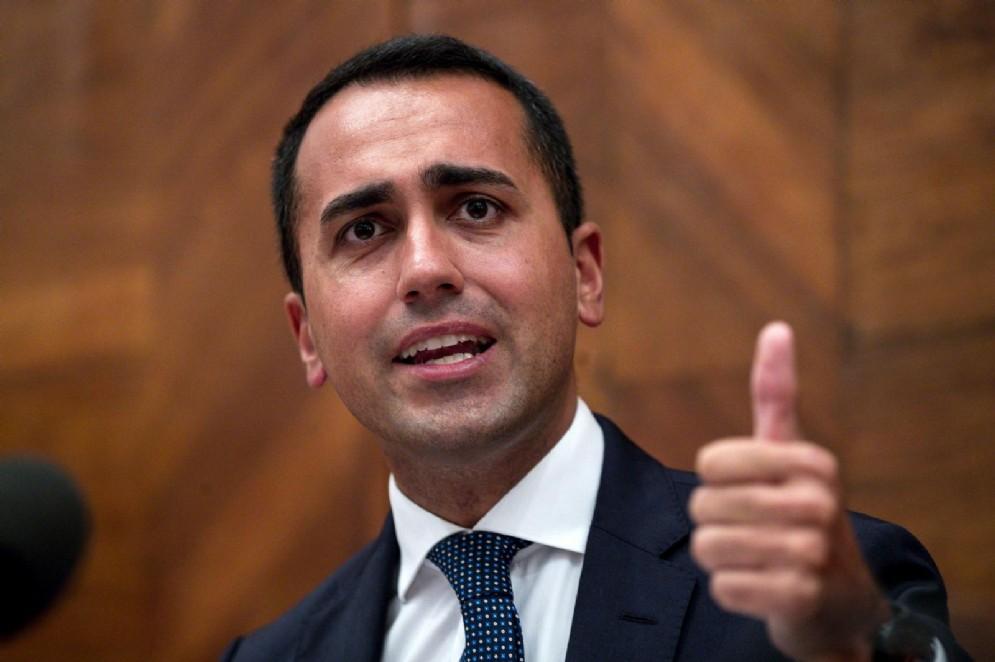 Il ministro del Lavoro dello Sviluppo economico e vicepremier Luigi Di Maio