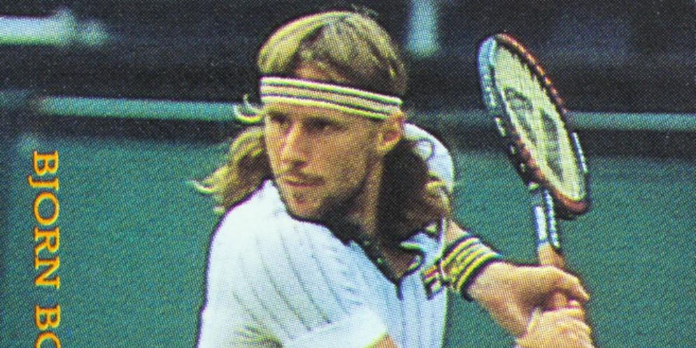 Il tennista svedese Bjorn Borg