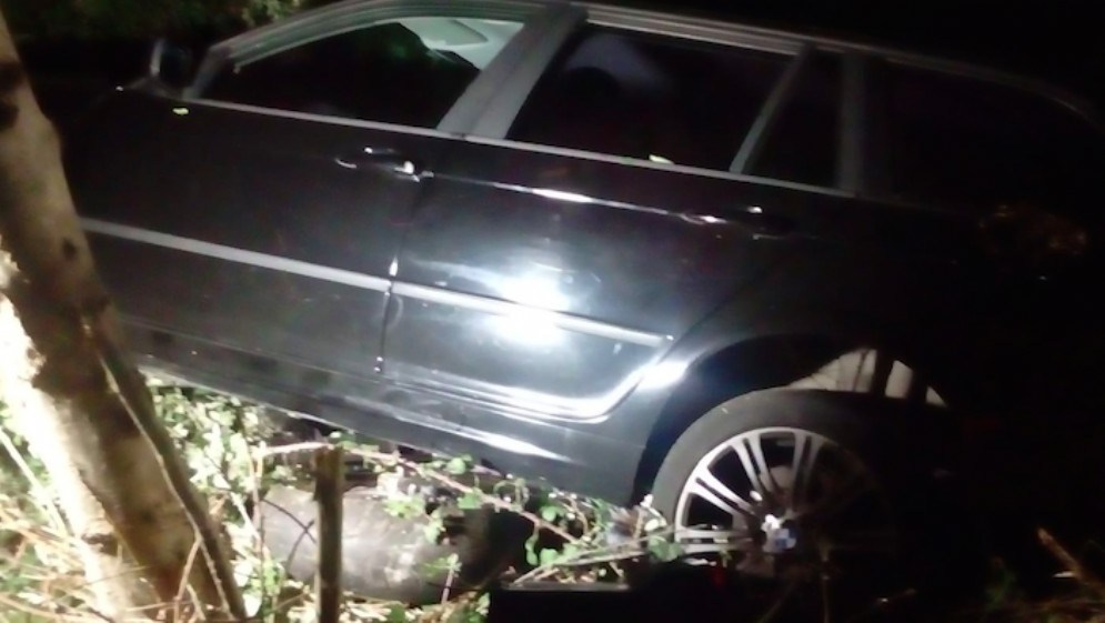 Incidente a San Giovanni al Natisone: auto e moto finiscono nel fosso
