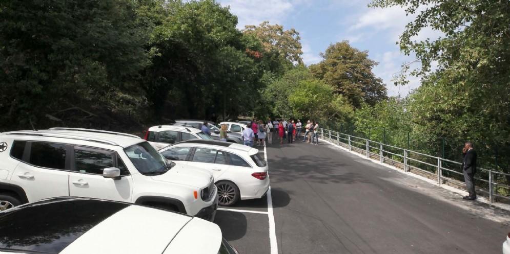 Inaugurato il nuovo parcheggio di Longera