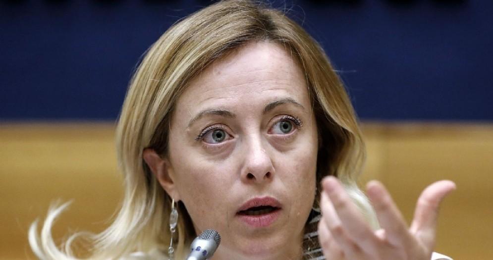 Giorgia Meloni alla Camera dei Deputati