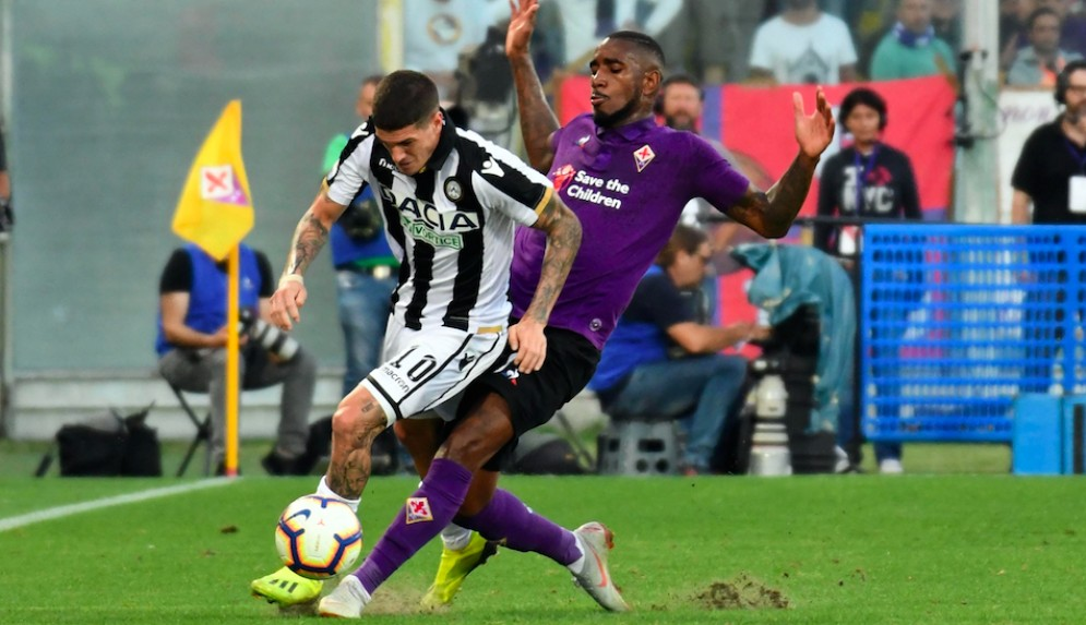 Benassi castiga l'Udinese e regala i 3 punti alla Fiorentina