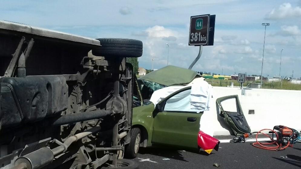 A4, chiuso il tratto tra Meolo-Roncade e San Donà di Piave per incidente